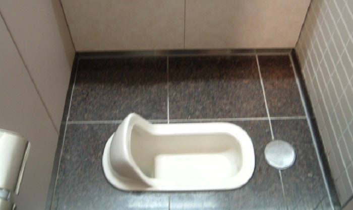 how to use a squat toilet with bad knees